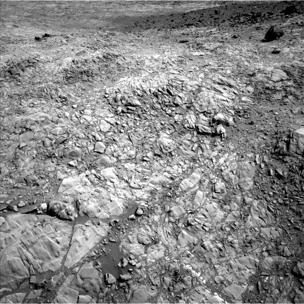 Nasa's Mars rover Curiosity acquired this image using its Left Navigation Camera on Sol 1158, at drive 2396, site number 50