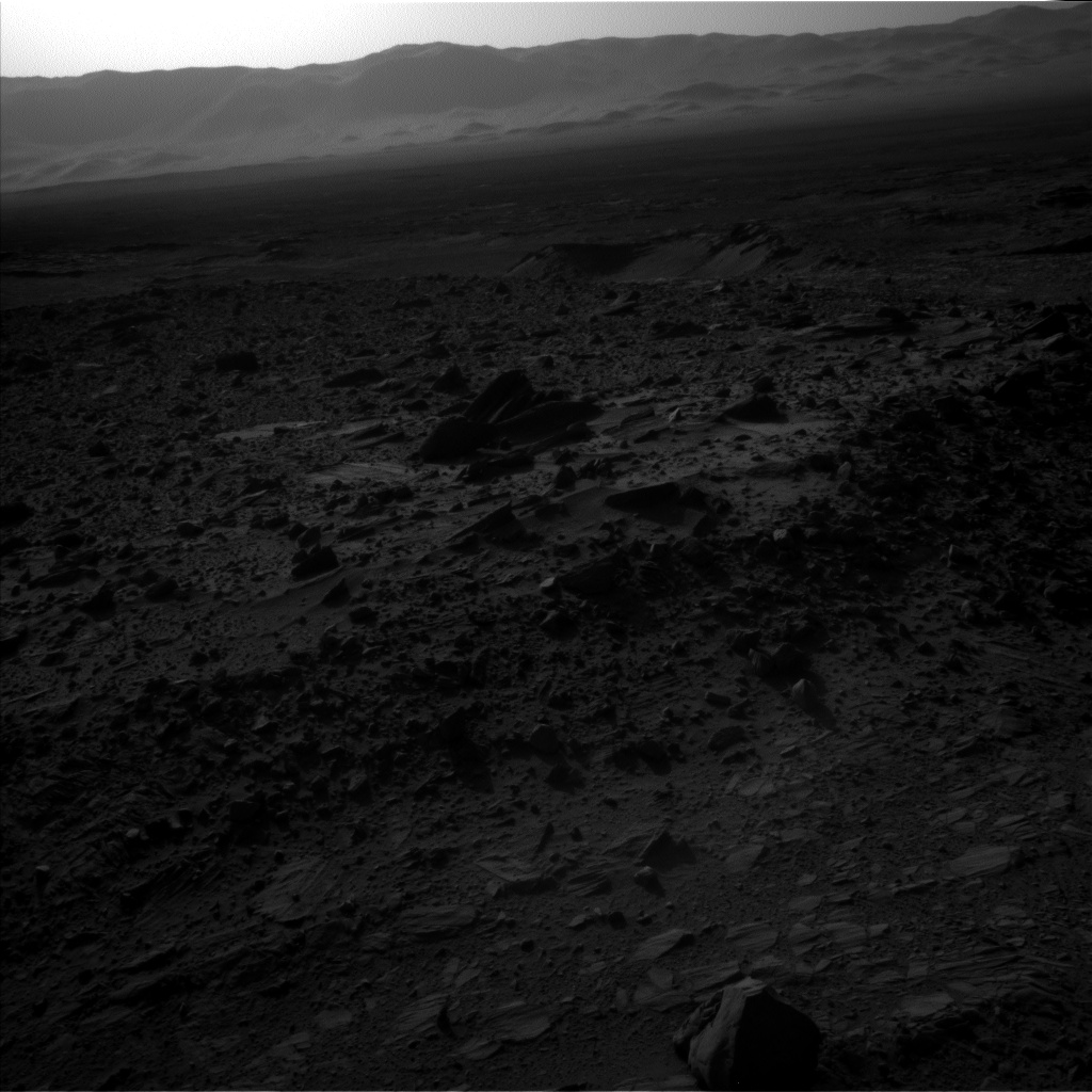 Nasa's Mars rover Curiosity acquired this image using its Left Navigation Camera on Sol 1158, at drive 2438, site number 50