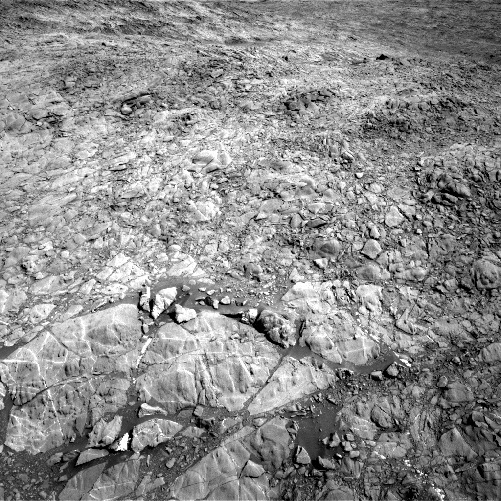 Nasa's Mars rover Curiosity acquired this image using its Right Navigation Camera on Sol 1158, at drive 2396, site number 50