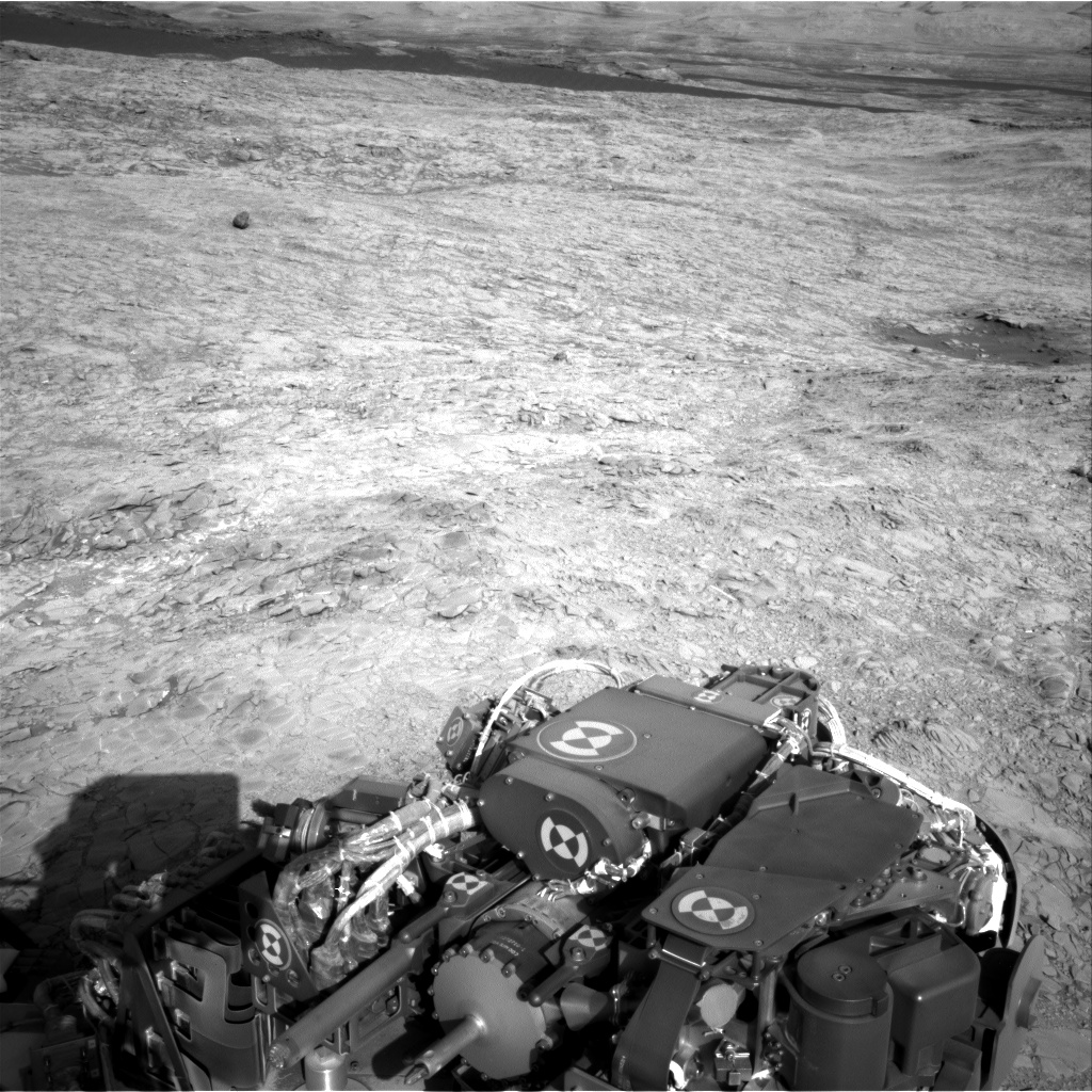 Nasa's Mars rover Curiosity acquired this image using its Right Navigation Camera on Sol 1158, at drive 2438, site number 50