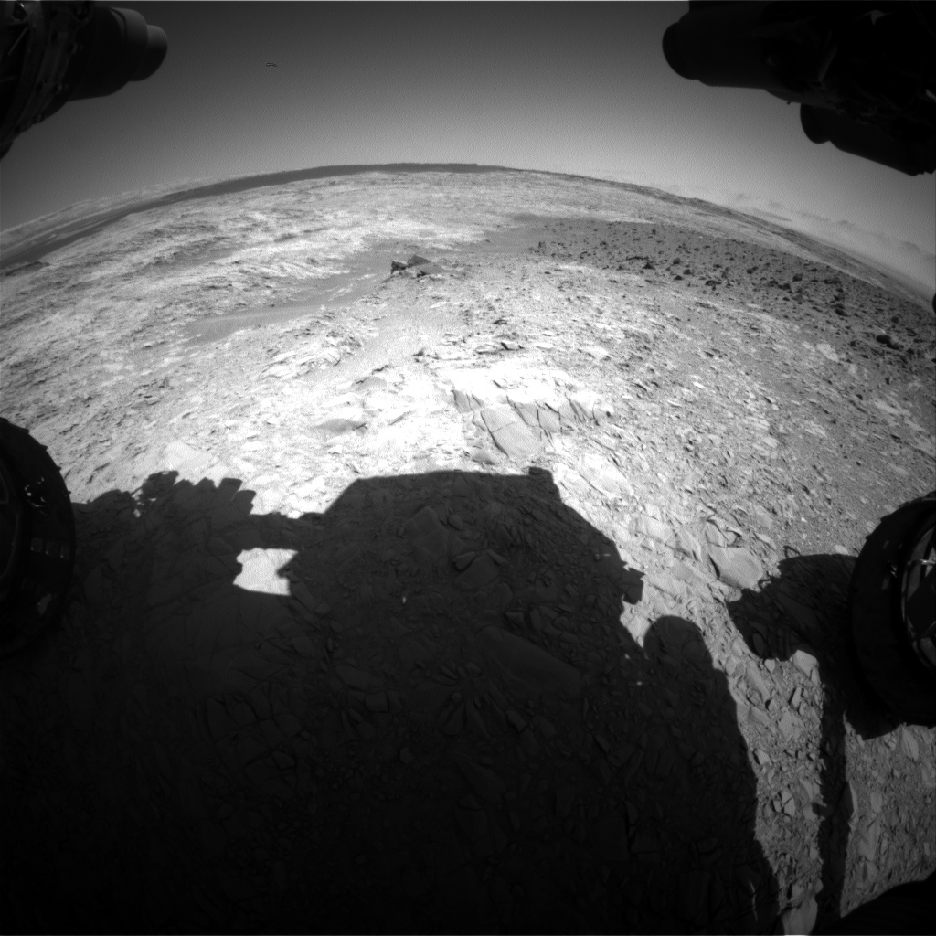 Nasa's Mars rover Curiosity acquired this image using its Front Hazard Avoidance Camera (Front Hazcam) on Sol 1159, at drive 2438, site number 50