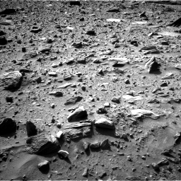 Nasa's Mars rover Curiosity acquired this image using its Left Navigation Camera on Sol 1160, at drive 2492, site number 50