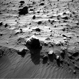 Nasa's Mars rover Curiosity acquired this image using its Left Navigation Camera on Sol 1160, at drive 2576, site number 50