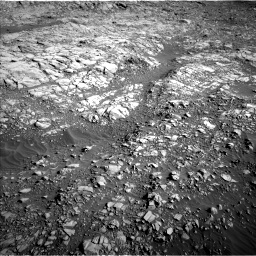 Nasa's Mars rover Curiosity acquired this image using its Left Navigation Camera on Sol 1160, at drive 2582, site number 50