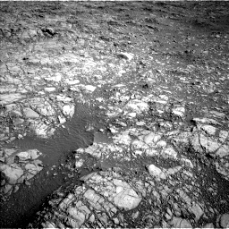 Nasa's Mars rover Curiosity acquired this image using its Left Navigation Camera on Sol 1160, at drive 2612, site number 50