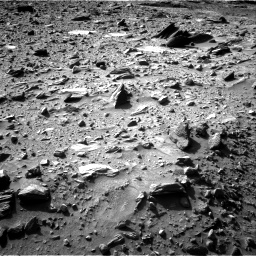 Nasa's Mars rover Curiosity acquired this image using its Right Navigation Camera on Sol 1160, at drive 2486, site number 50