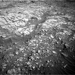 Nasa's Mars rover Curiosity acquired this image using its Right Navigation Camera on Sol 1160, at drive 2582, site number 50
