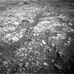 Nasa's Mars rover Curiosity acquired this image using its Right Navigation Camera on Sol 1160, at drive 2588, site number 50