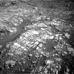 Nasa's Mars rover Curiosity acquired this image using its Right Navigation Camera on Sol 1160, at drive 2600, site number 50