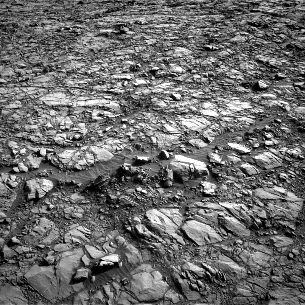 Nasa's Mars rover Curiosity acquired this image using its Right Navigation Camera on Sol 1160, at drive 2744, site number 50