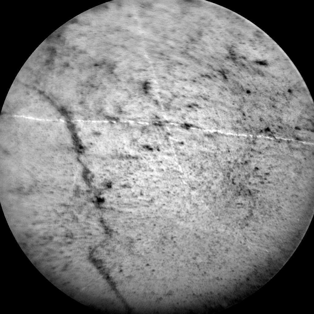 Nasa's Mars rover Curiosity acquired this image using its Chemistry & Camera (ChemCam) on Sol 1160, at drive 2438, site number 50