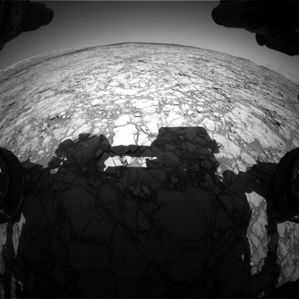 Nasa's Mars rover Curiosity acquired this image using its Front Hazard Avoidance Camera (Front Hazcam) on Sol 1161, at drive 2772, site number 50