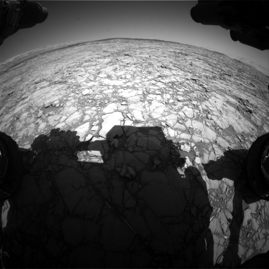 Nasa's Mars rover Curiosity acquired this image using its Front Hazard Avoidance Camera (Front Hazcam) on Sol 1162, at drive 2772, site number 50