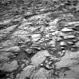 Nasa's Mars rover Curiosity acquired this image using its Left Navigation Camera on Sol 1162, at drive 2832, site number 50
