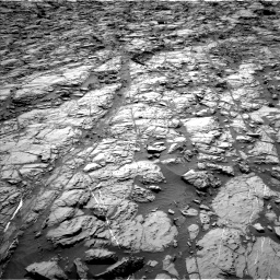 Nasa's Mars rover Curiosity acquired this image using its Left Navigation Camera on Sol 1162, at drive 2838, site number 50