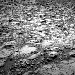 Nasa's Mars rover Curiosity acquired this image using its Left Navigation Camera on Sol 1162, at drive 2868, site number 50