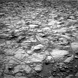 Nasa's Mars rover Curiosity acquired this image using its Left Navigation Camera on Sol 1162, at drive 2874, site number 50
