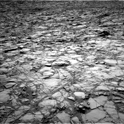 NASA's Mars rover Curiosity acquired this image using its Left Navigation Camera (Navcams) on Sol 1162