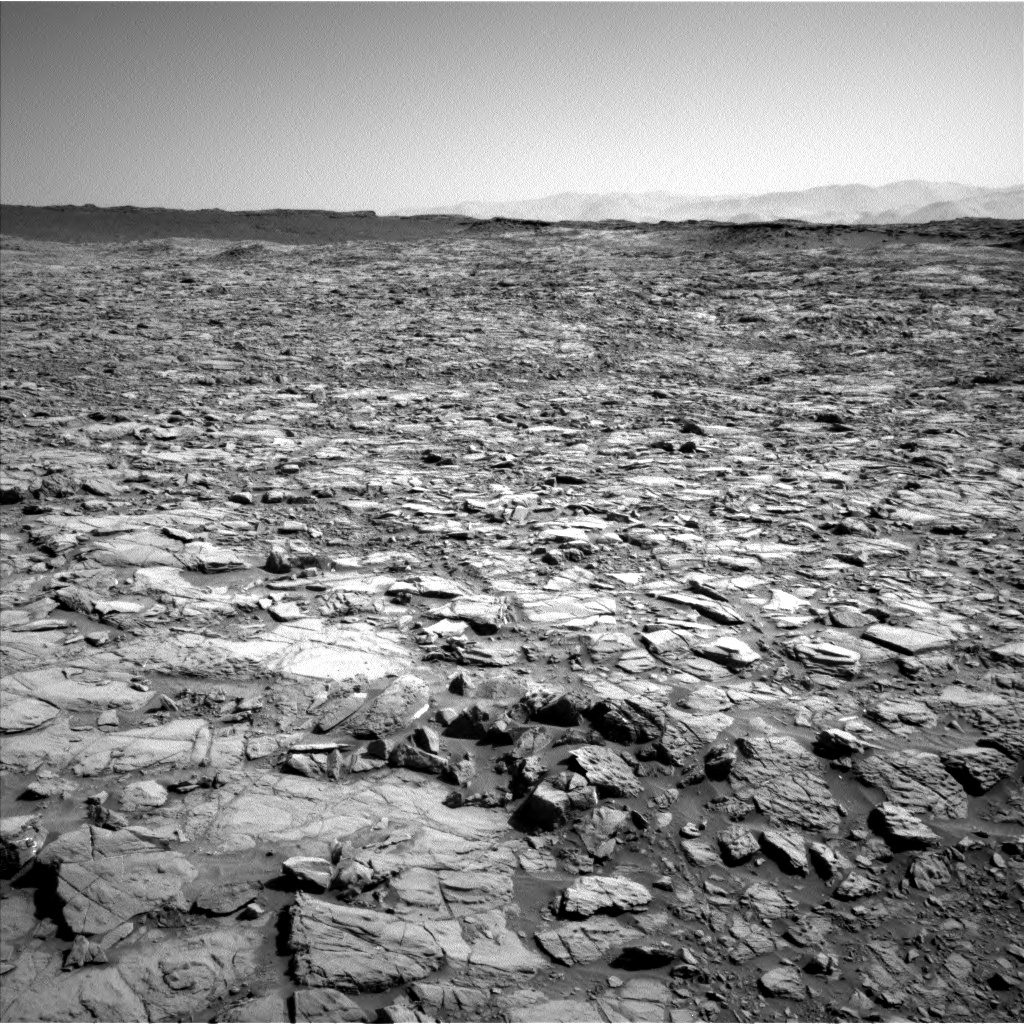 Nasa's Mars rover Curiosity acquired this image using its Left Navigation Camera on Sol 1162, at drive 3000, site number 50