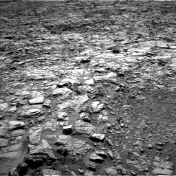 Nasa's Mars rover Curiosity acquired this image using its Left Navigation Camera on Sol 1162, at drive 3018, site number 50