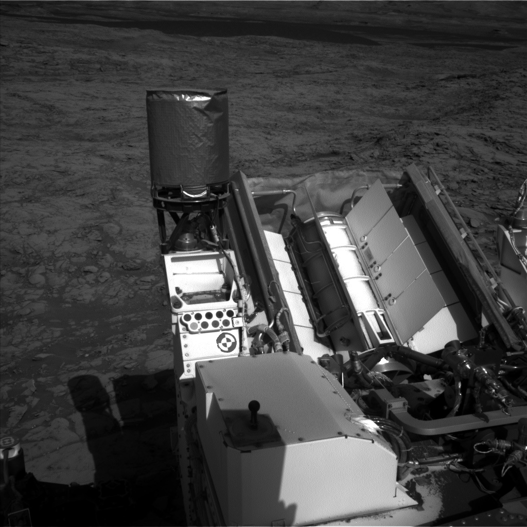 Nasa's Mars rover Curiosity acquired this image using its Left Navigation Camera on Sol 1162, at drive 3076, site number 50