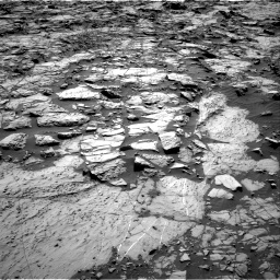 Nasa's Mars rover Curiosity acquired this image using its Right Navigation Camera on Sol 1162, at drive 2820, site number 50
