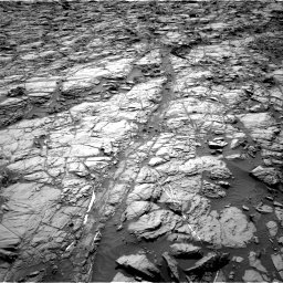 Nasa's Mars rover Curiosity acquired this image using its Right Navigation Camera on Sol 1162, at drive 2844, site number 50