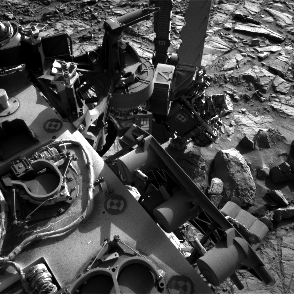 Nasa's Mars rover Curiosity acquired this image using its Left Navigation Camera on Sol 1166, at drive 3076, site number 50