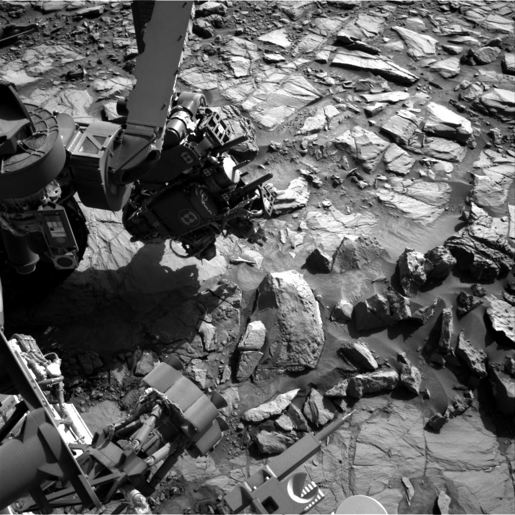 Nasa's Mars rover Curiosity acquired this image using its Right Navigation Camera on Sol 1166, at drive 3076, site number 50