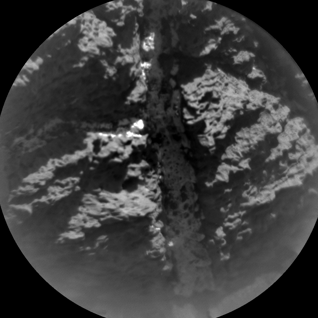 Nasa's Mars rover Curiosity acquired this image using its Chemistry & Camera (ChemCam) on Sol 1166, at drive 3076, site number 50