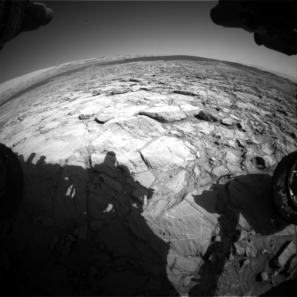 Nasa's Mars rover Curiosity acquired this image using its Front Hazard Avoidance Camera (Front Hazcam) on Sol 1167, at drive 0, site number 51