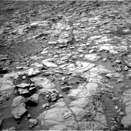 Nasa's Mars rover Curiosity acquired this image using its Left Navigation Camera on Sol 1167, at drive 3094, site number 50