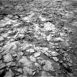 Nasa's Mars rover Curiosity acquired this image using its Left Navigation Camera on Sol 1167, at drive 3130, site number 50