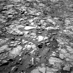 Nasa's Mars rover Curiosity acquired this image using its Left Navigation Camera on Sol 1167, at drive 3160, site number 50