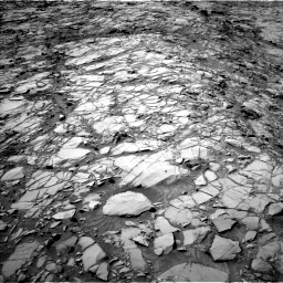 Nasa's Mars rover Curiosity acquired this image using its Left Navigation Camera on Sol 1167, at drive 3256, site number 50