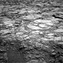 Nasa's Mars rover Curiosity acquired this image using its Left Navigation Camera on Sol 1167, at drive 3316, site number 50