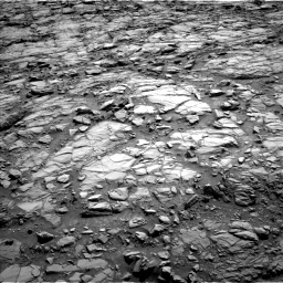 Nasa's Mars rover Curiosity acquired this image using its Left Navigation Camera on Sol 1167, at drive 3328, site number 50