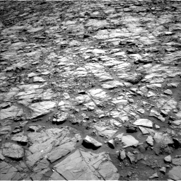 Nasa's Mars rover Curiosity acquired this image using its Left Navigation Camera on Sol 1167, at drive 3346, site number 50