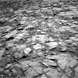 Nasa's Mars rover Curiosity acquired this image using its Left Navigation Camera on Sol 1167, at drive 3358, site number 50