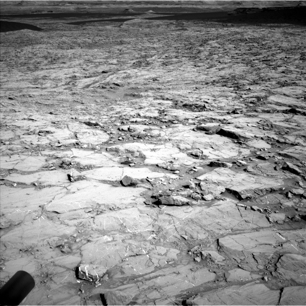 Nasa's Mars rover Curiosity acquired this image using its Left Navigation Camera on Sol 1167, at drive 0, site number 51