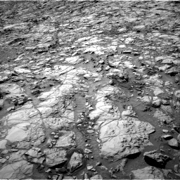 Nasa's Mars rover Curiosity acquired this image using its Right Navigation Camera on Sol 1167, at drive 3100, site number 50