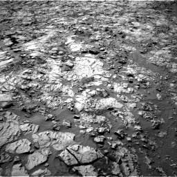 Nasa's Mars rover Curiosity acquired this image using its Right Navigation Camera on Sol 1167, at drive 3124, site number 50