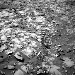 Nasa's Mars rover Curiosity acquired this image using its Right Navigation Camera on Sol 1167, at drive 3136, site number 50