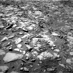 Nasa's Mars rover Curiosity acquired this image using its Right Navigation Camera on Sol 1167, at drive 3148, site number 50