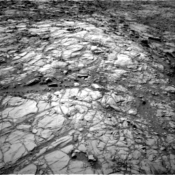 Nasa's Mars rover Curiosity acquired this image using its Right Navigation Camera on Sol 1167, at drive 3220, site number 50