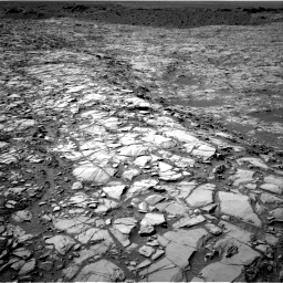 Nasa's Mars rover Curiosity acquired this image using its Right Navigation Camera on Sol 1167, at drive 3310, site number 50