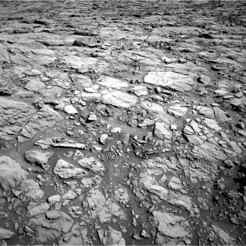 Nasa's Mars rover Curiosity acquired this image using its Right Navigation Camera on Sol 1167, at drive 3316, site number 50