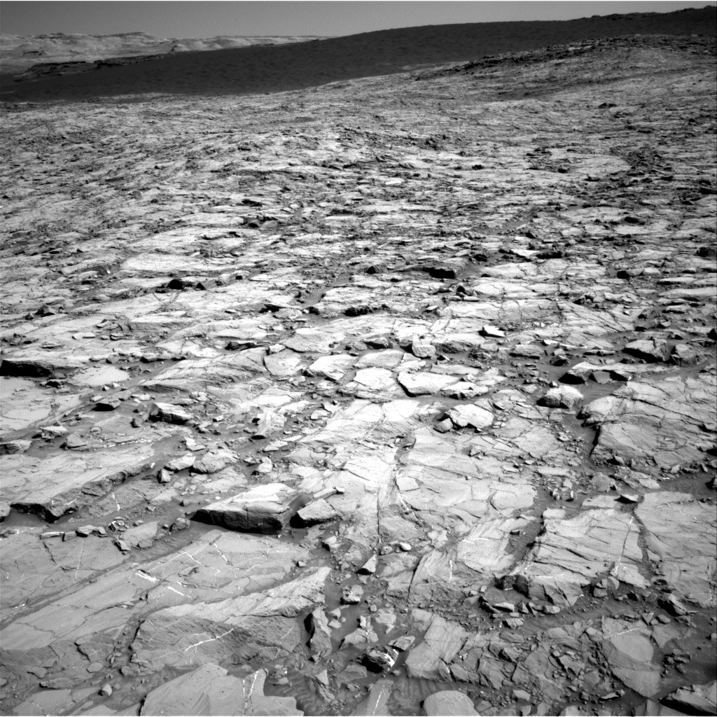 Sol 1167 Navcam Bagnold Dunes