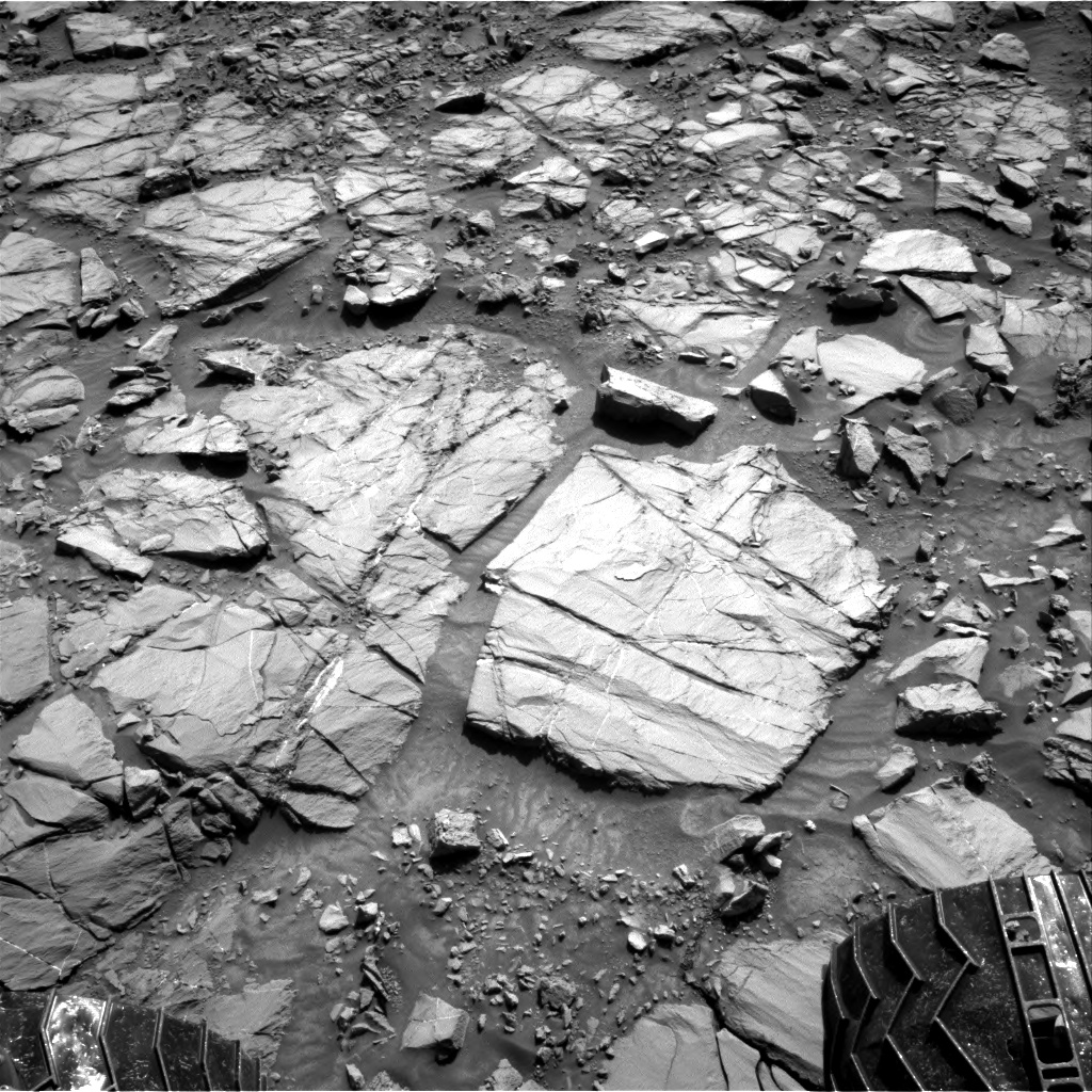 Nasa's Mars rover Curiosity acquired this image using its Right Navigation Camera on Sol 1167, at drive 0, site number 51