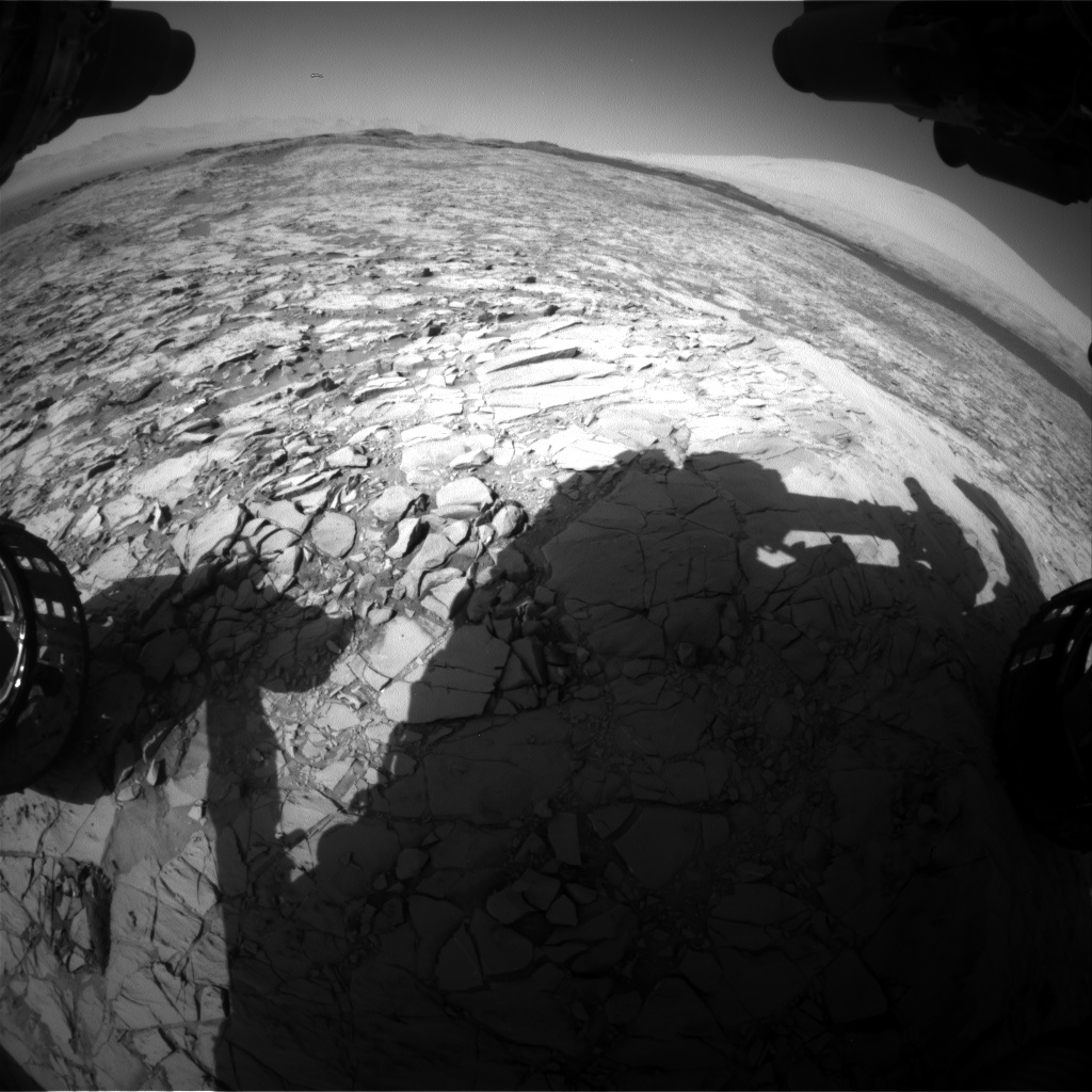 Nasa's Mars rover Curiosity acquired this image using its Front Hazard Avoidance Camera (Front Hazcam) on Sol 1168, at drive 268, site number 51